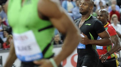 Jamaican runner Asafa Powell missed the world championships last year, but believes he can win gold at the Olympics, saying 'it's the best man on the day that can win' [REUTERS]