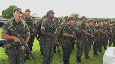 Brazil deploys troops to thwart border crime