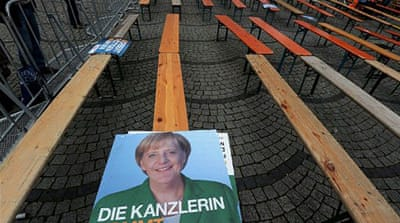 The election returned the SPD-Greens coalition to power with a stronger mandate [Reuters]