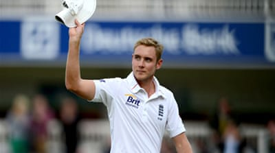 Broad became seventh person to take five or more wickets and score a Test century at Lord's [GALLO/GETTY]
