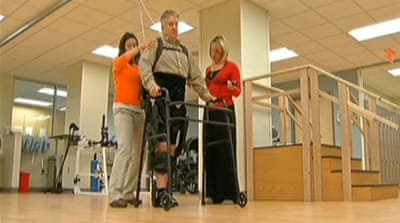 Bionic suit helps ease mobility problems
