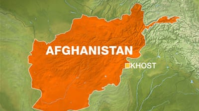 Afghan Taliban attack Khost army base