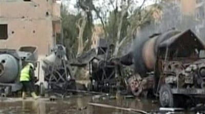 Car bomb strikes near Syria military complex