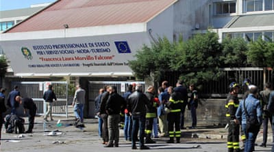 Mafia suspected in south Italy school blast