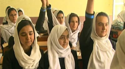 Afghan women see improved life chances