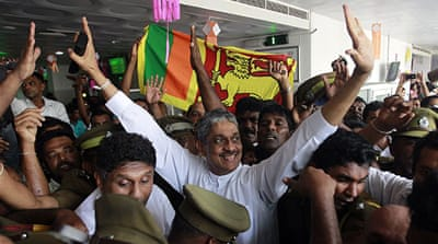 Sri Lanka releases former army chief