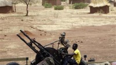 Town at centre of Sudan conflict