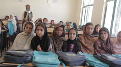 At least three districts in Kandahar have never had a school [Mujib Mashal/Al Jazeera] [Al Jazeera]