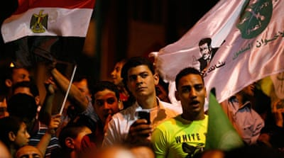 In pictures: Brotherhood mobilises for Morsi