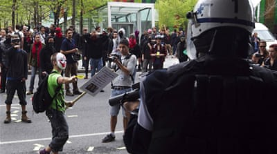 Students have been protesting for fifteen weeks against tuition fee increases [Reuters]