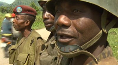DR Congo army accused of 'terrorising' locals