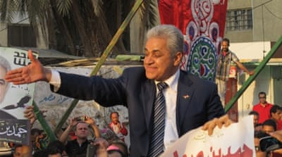 On the campaign trail in Egypt
