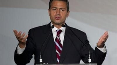The turnaround in Pena Nieto's fortunes has sent shockwaves through markets in Mexico [AFP]