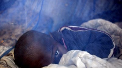 Where is the money for malaria?