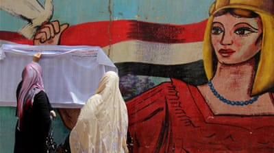 A showdown between old and new in Egypt