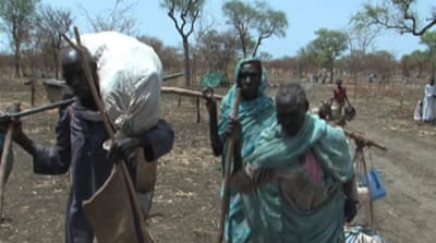 South Sudan refugee influx strains camps