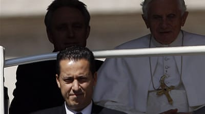 Pope's butler charged in 'Vatileaks' scandal