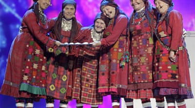 Al Jazeera's Sohail Rahman reports from Baku on the lack of transparency in funding Eurovision