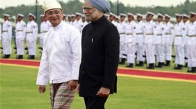 India's fight for Myanmar