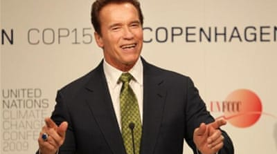 Former governor Arnold Schwarzenegger began the 'Million Solar Roofs' program [Reuters]
