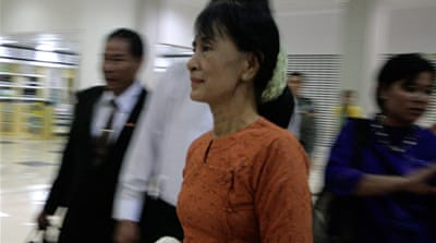 Aung San Suu Kyi spent 15 years in detention during Myanmar's fight for democracy