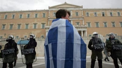 The recession has led the Greek government to slash public funding for universities [Sam Bollier/Al Jazeera]