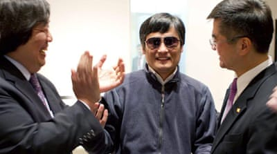 Chinese dissident Chen seeks US exile deal