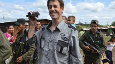 Colombia rebels release French reporter