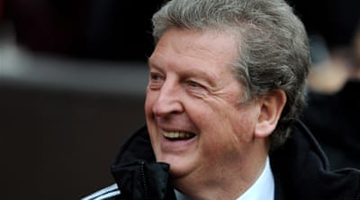 Hodgson took Fulham to the Europa League final in 2010 but only has a month to bring that winning mentality to the England squad ahead of June's Euros 2012 [GETTY]