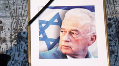 Yitzhak Rabin, former Israeli prime minister, was killed in 1995 by Yigal Amir, a Jewish extremist [EPA]
