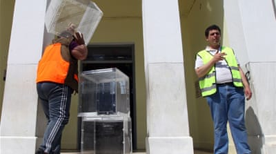 Many Greeks are expected to vote against the main political parties as a result of the economic crisis [Reuters]