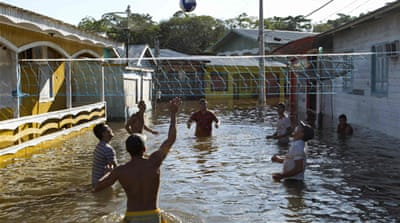 Brazil drought and floods