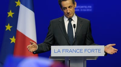 French police search Sarkozy home and office