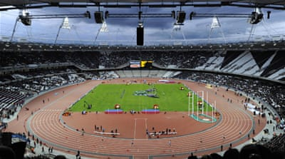 Stadium opens 2,012 hours ahead of Olympics