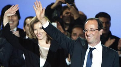 Hollande wins French presidency
