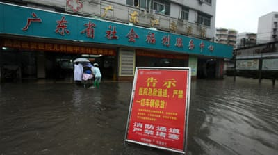 China hit by flooding