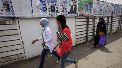 Many Algerians will likely abstain from voting in the country's parliamentary elections [Reuters]