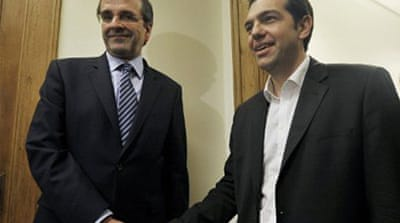 Greek coalition talks remain deadlocked