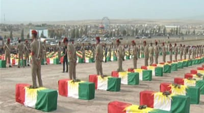Bodies of Kurds killed in Saddam era returned