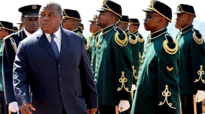 Banda, shown here in a 2010 file photograph, was the president of Zambia from 2008 to 2011 [EPA]