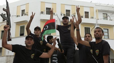 Just days ago a militia of ex-rebels seized control of the Tripoli airport after their leader's apparent arrest [AFP]