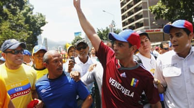 Bachelor candidate Henrique Capriles  has received many online marriage proposals during his campaign [Reuters]