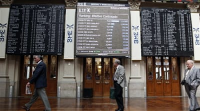 World markets muted over Spain rescue deal