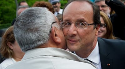 Hollande needs a majority as he lobbies fellow leaders to look beyond austerity in handling the eurozone crisis [Reuters]