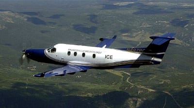 The fleet of surveillance planes is made up of single-engine Pilatus PC-12s [Wikipedia: Creative Commons]