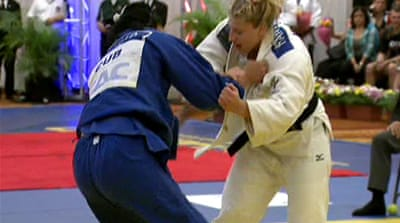 Against all odds: Kayla Harrison