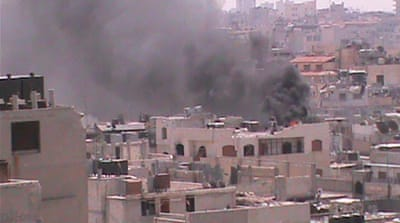 Activists have reported renewed shelling on several neighbourhoods in the central city of Homs