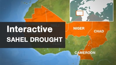 Interactive: Mapping the Sahel drought