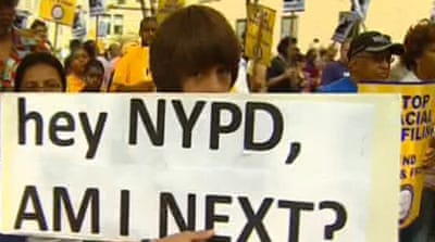 New York protests over 'stop and frisk'