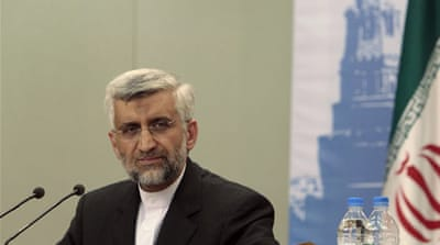 Saeed Jalili said that there was no reason to doubt the peaceful aims of Tehran's nuclear program[Reuters]